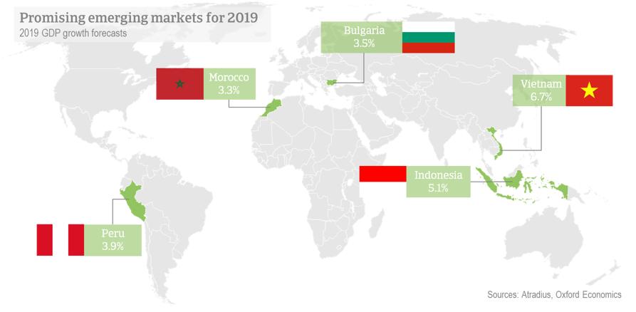 Promising Markets for 2019