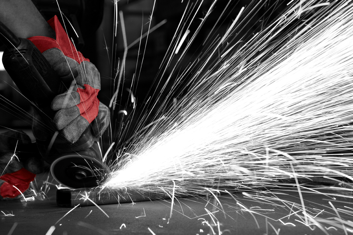 Image of cutting steel