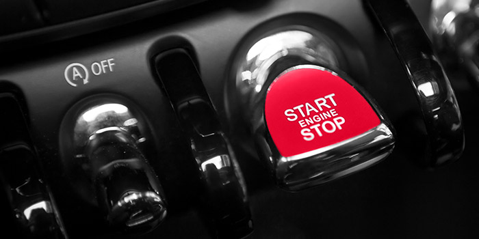Image of engine start button | Atradius